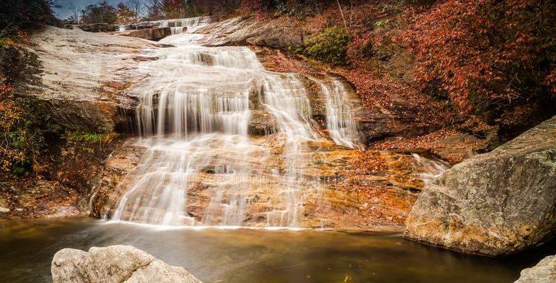 Lower Graveyard Fields Waterfall Great Smoky Mountains National Park