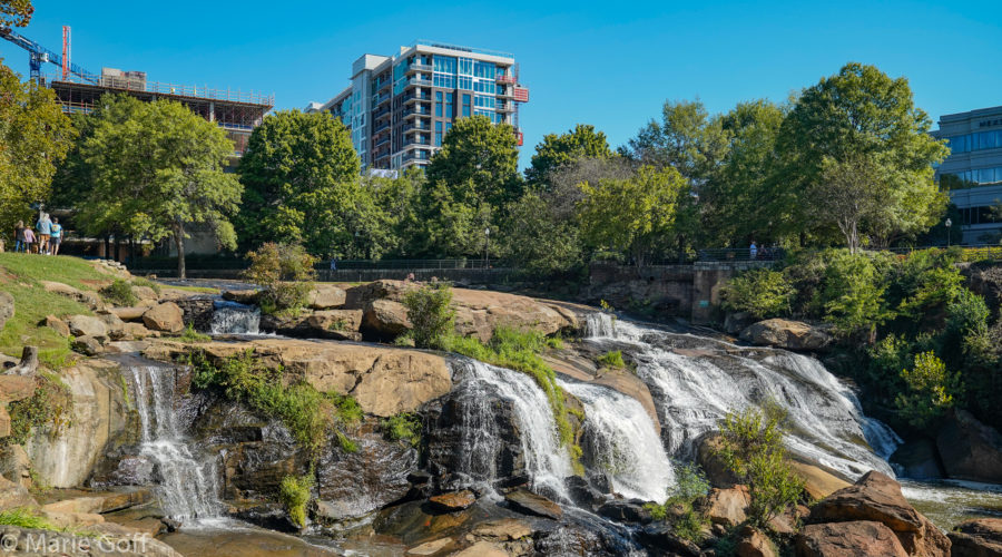 Images of Greenville, S.C. and a Surprise at Caesar's Head State Park